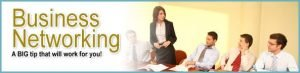 business networking banner referral tips