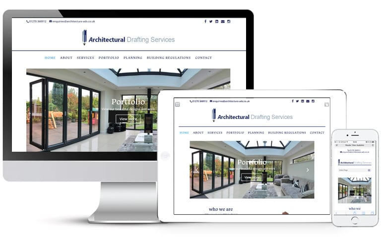 Architectural drafting services yellow circle web for Ads architectural design services