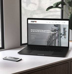 Power Supply Projects website design, desktop version by Yellow Circle - Creative Agency