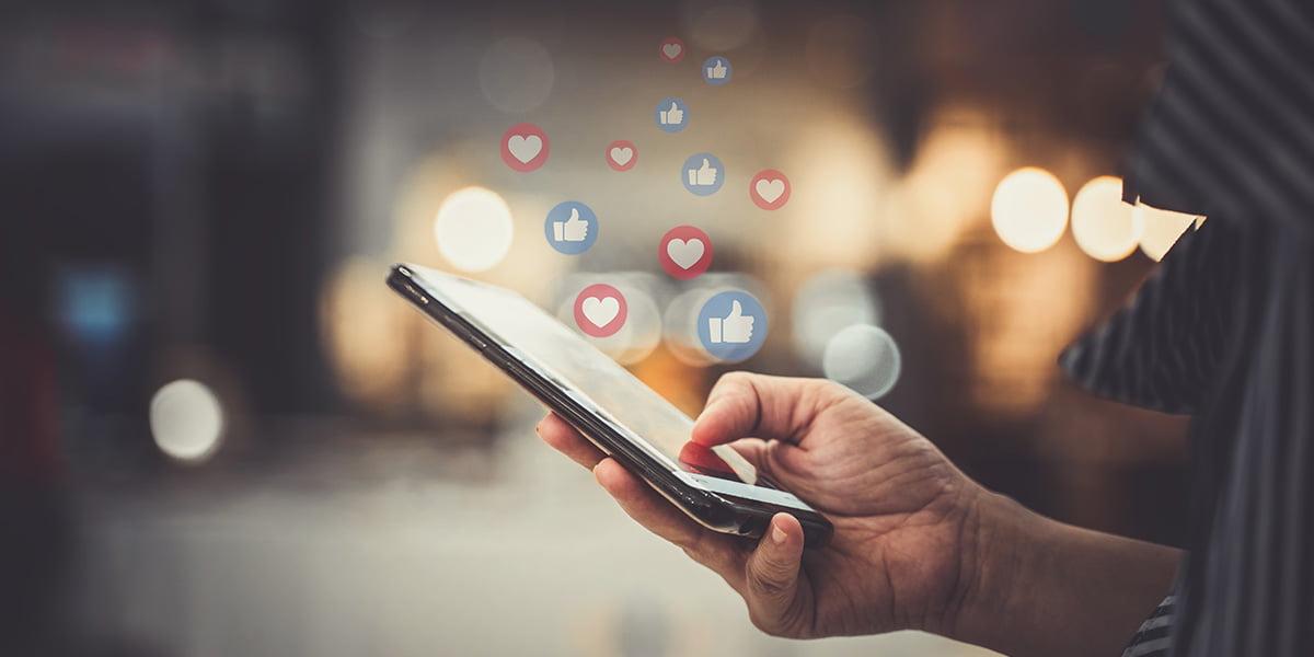 Social Media Employee Feature